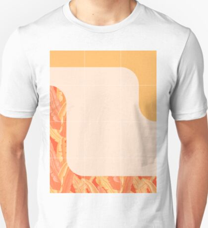 Mid-Century Tropical Orange Style #redbubble #tropical T-Shirt