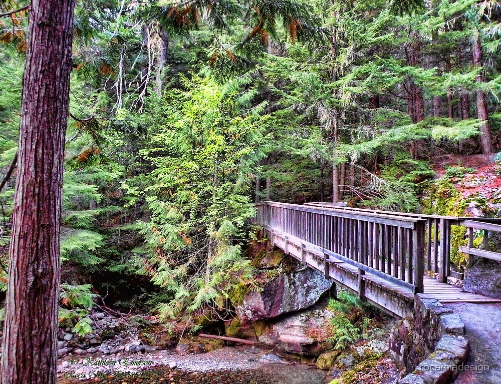 Avalanche Falls Walkbridge by rocamiadesign
