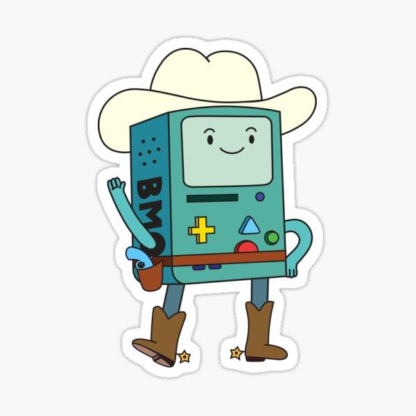 BMO Cowboy Sticker