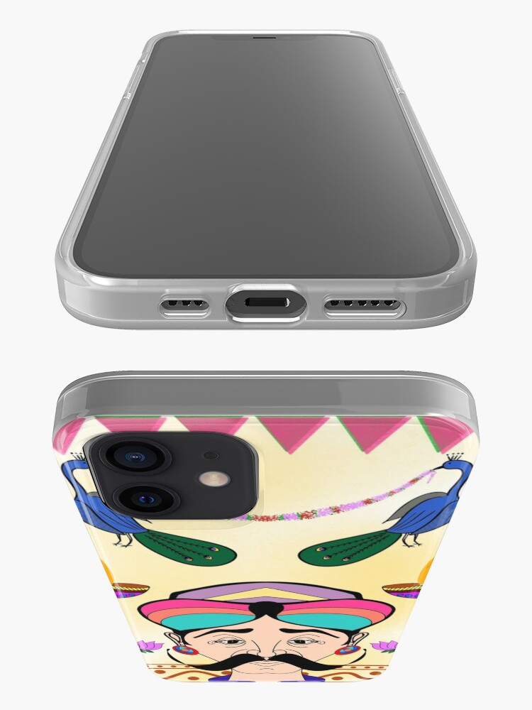 Alternate view of Ethnic Indian decoration iPhone Case & Cover