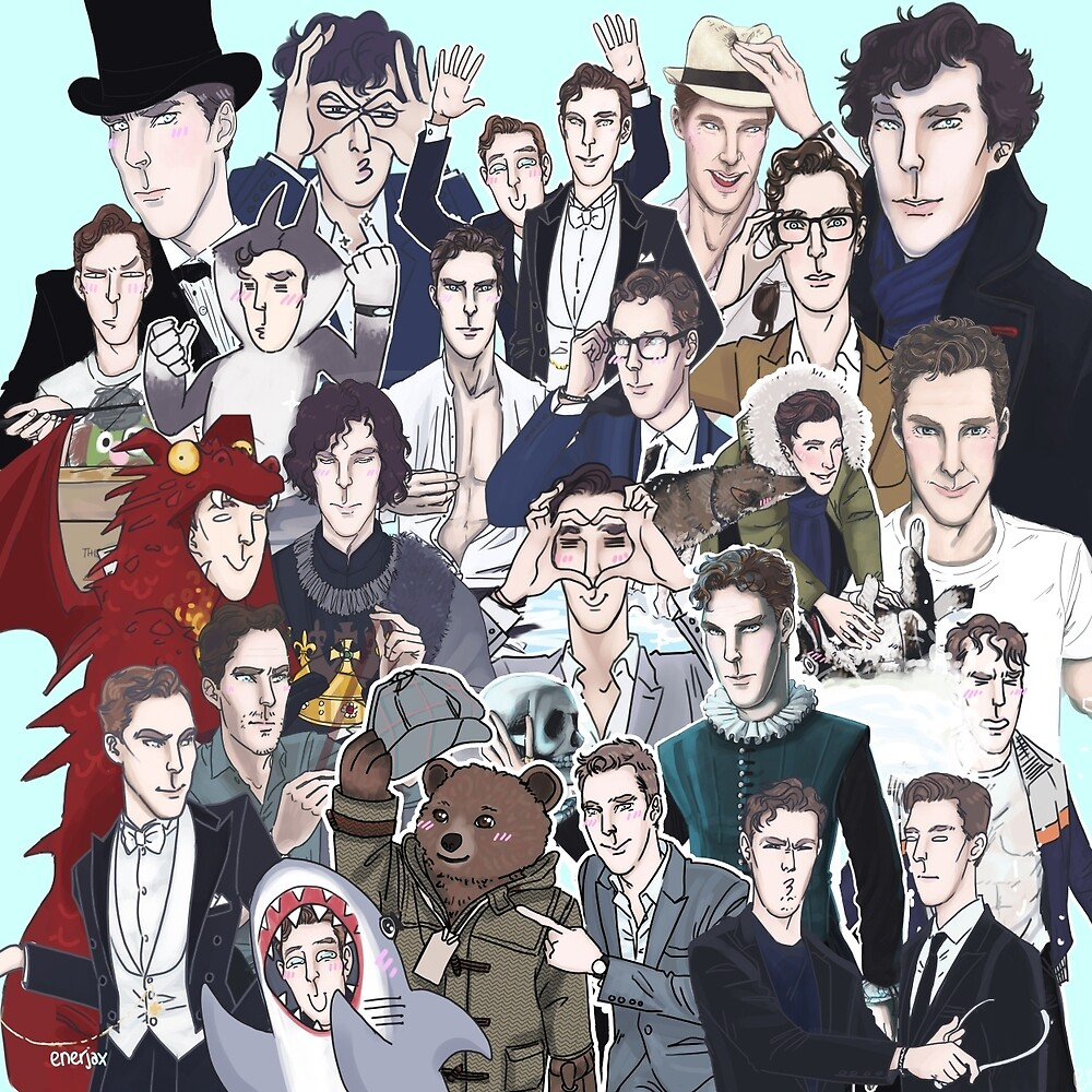2014 Benedict Cumberbatch by enerjax