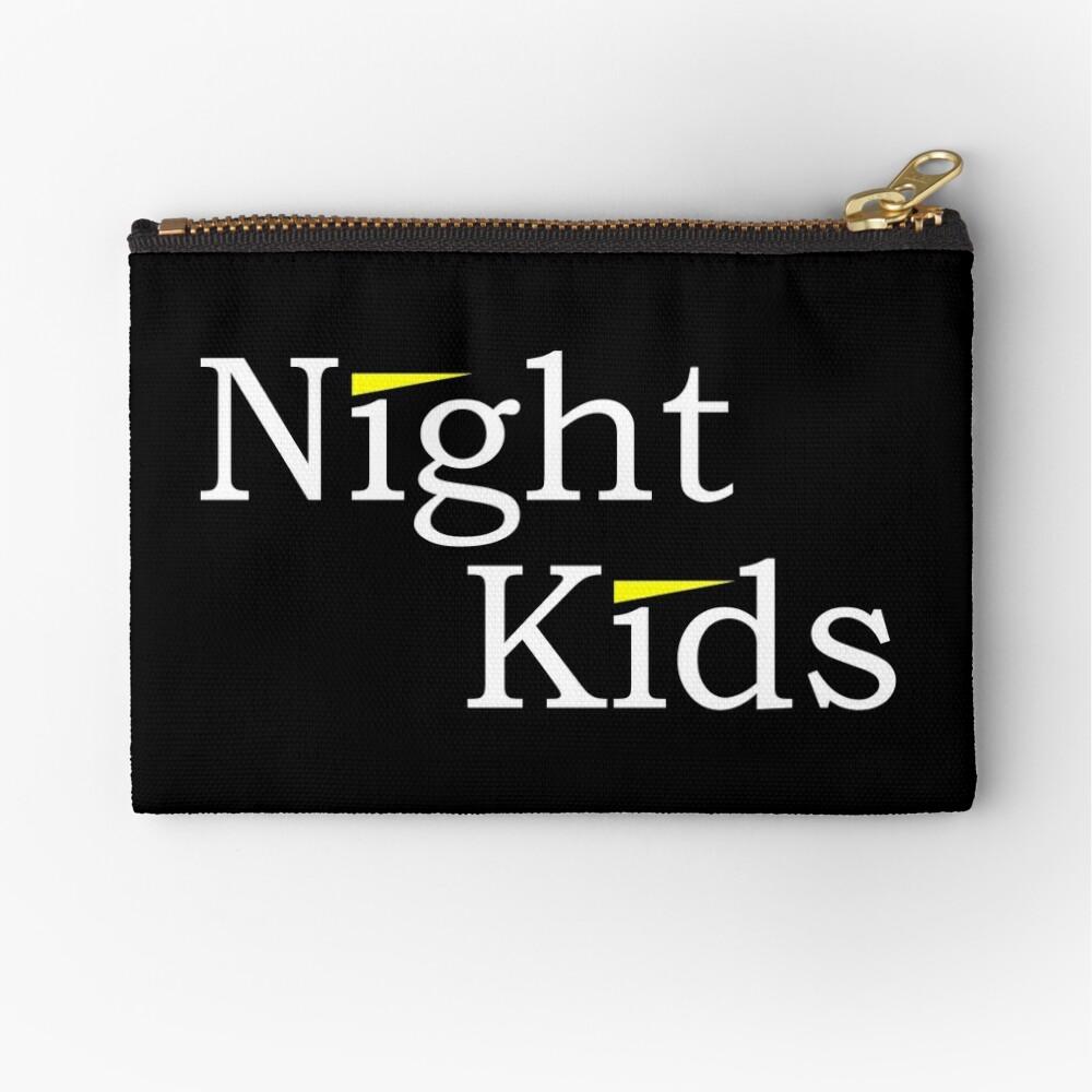 Initial D - Night Kids Logo Zipper Pouch