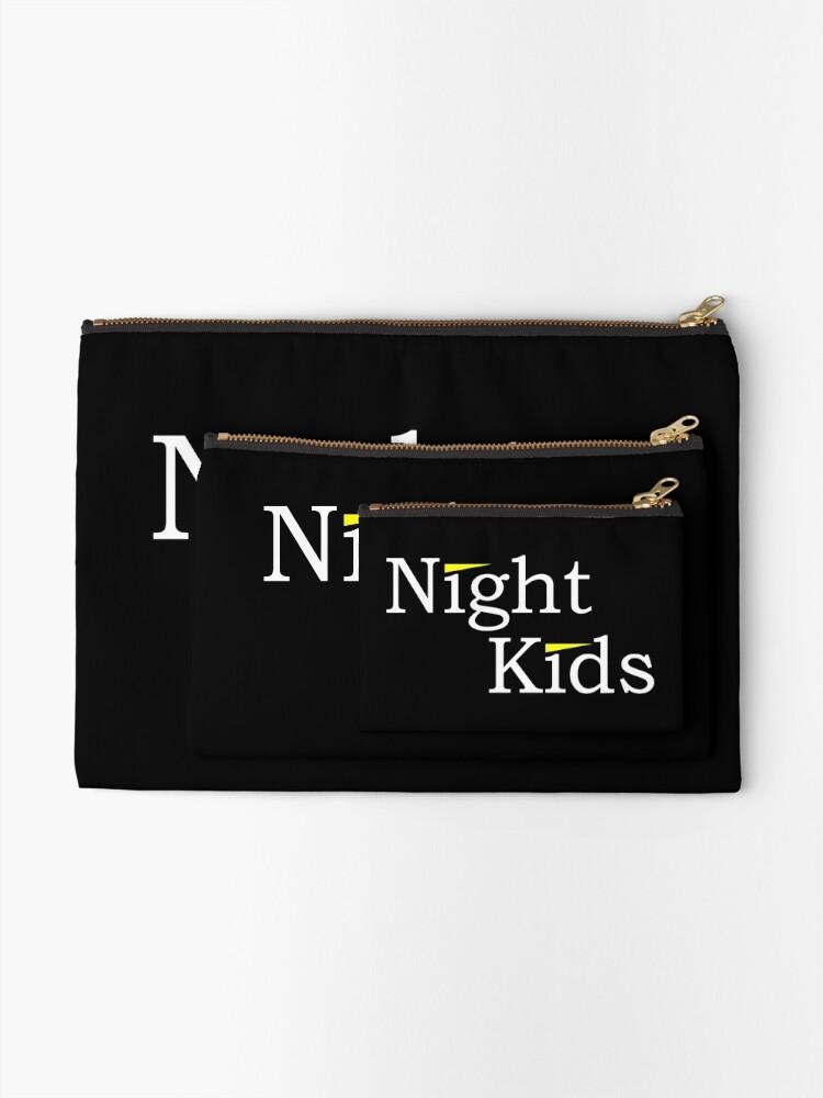 Alternate view of Initial D - Night Kids Logo Zipper Pouch