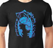 Metroid Fusion Nightmare - Blue Unisex T-Shirt