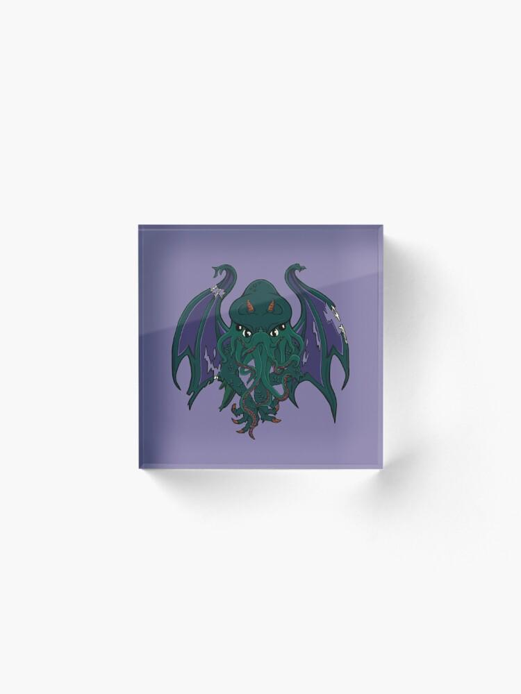 Alternate view of Cthulhu - Creatures of Mythos #1 Acrylic Block