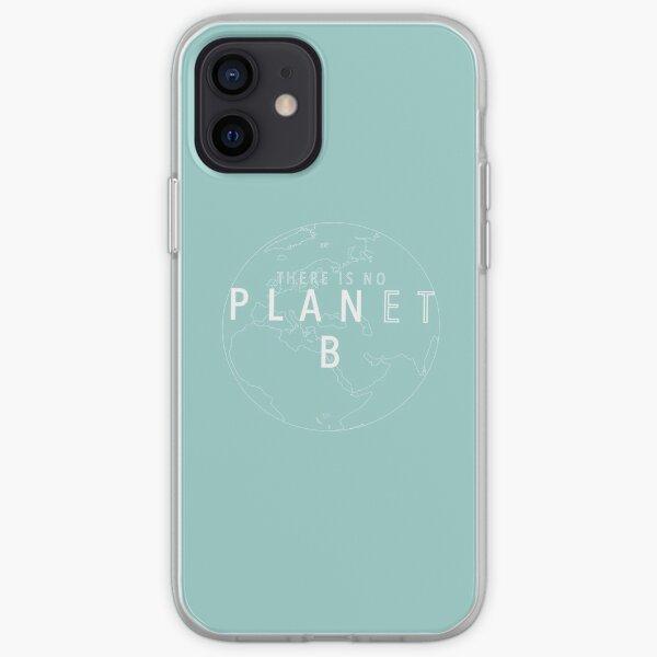 No hay planeta B (diseño 2) Funda blanda para iPhone