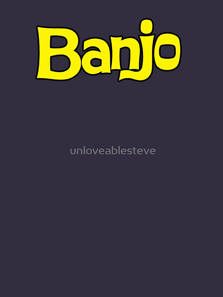 Banjo - retro biscuit wafer chocolate by unloveablesteve