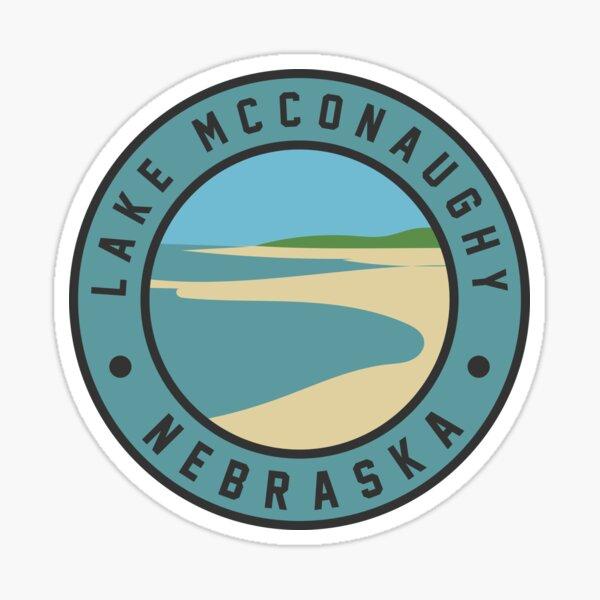 Lake McConaughy Nebraska Sticker