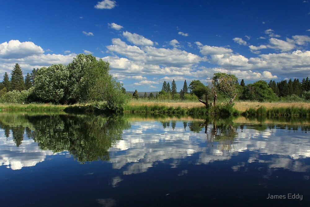 Hat Creek Reflections by James Eddy