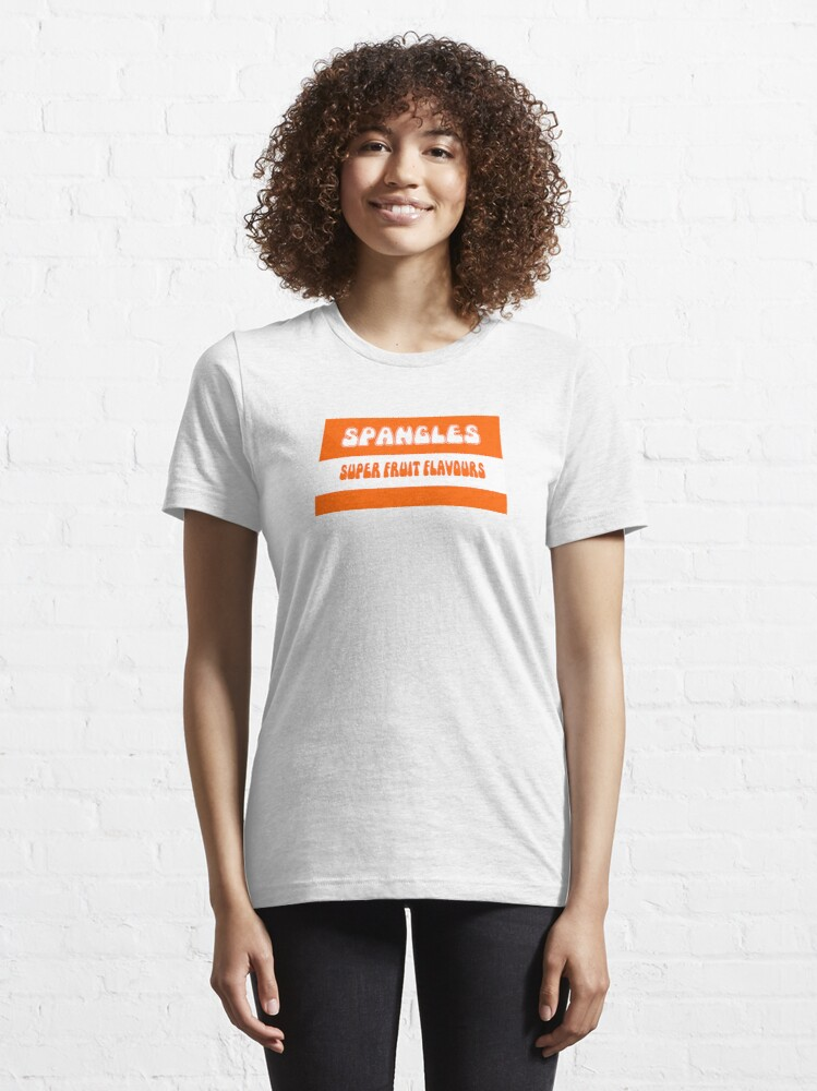 Alternate view of Super Fruit Flavoured Spangles 1970s retro boiled sweets Essential T-Shirt