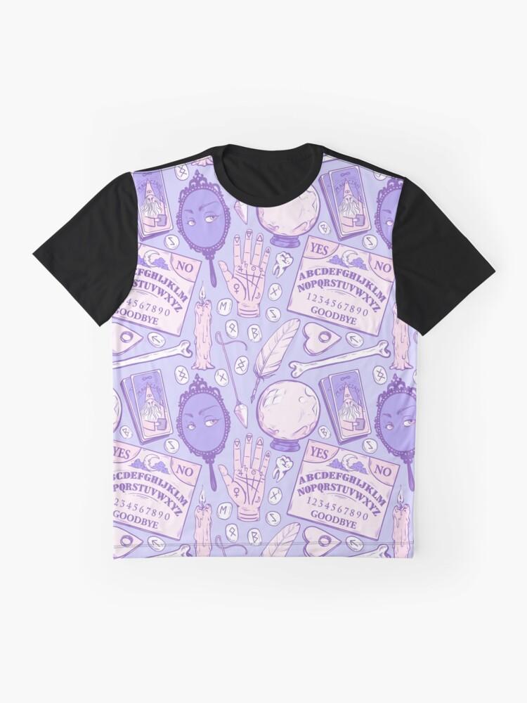 Alternative Ansicht von Weissagung in Pastell Lila Grafik T-Shirt