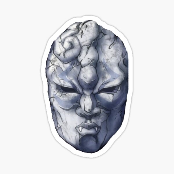Jojo stone mask Sticker