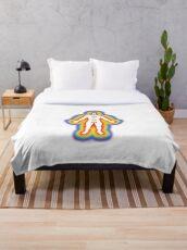 the chakras Throw Blanket