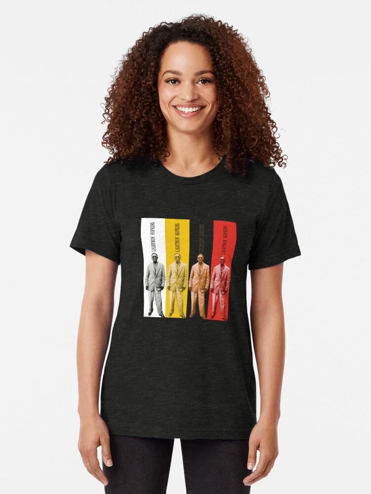 Alternate view of Lightnin' Hopkins Tri-blend T-Shirt