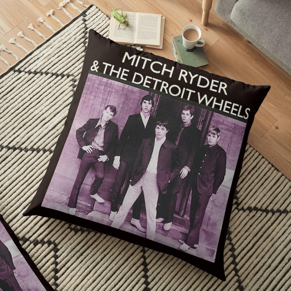 Mitch Ryder Floor Pillow
