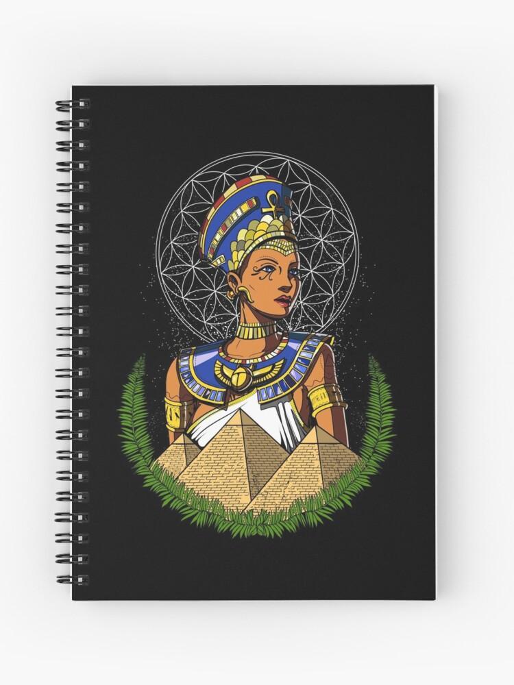 Egyptian Queen Nefertiti Egypt Mythology | Spiral Notebook