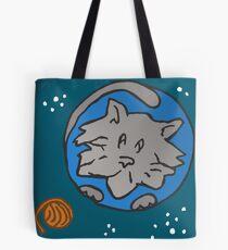 ZEEK visits Cat Planet Tote Bag