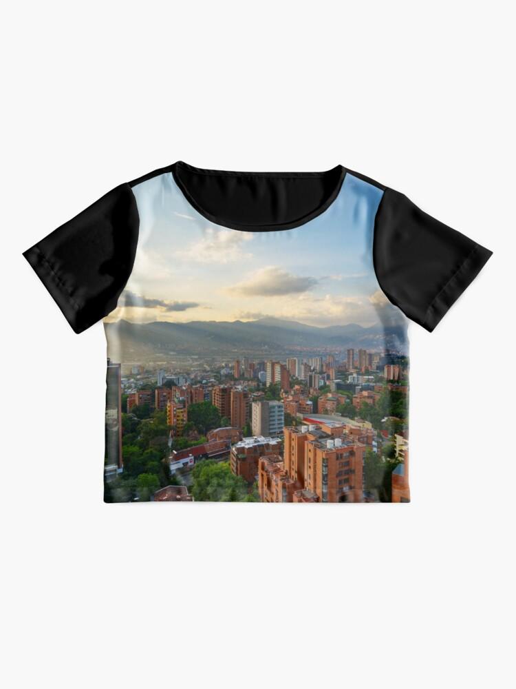 Alternative Ansicht von Medellin an einem sonnigen Nachmittag Chiffon Top