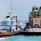 Tugboats in the Bahamas by ctheworld