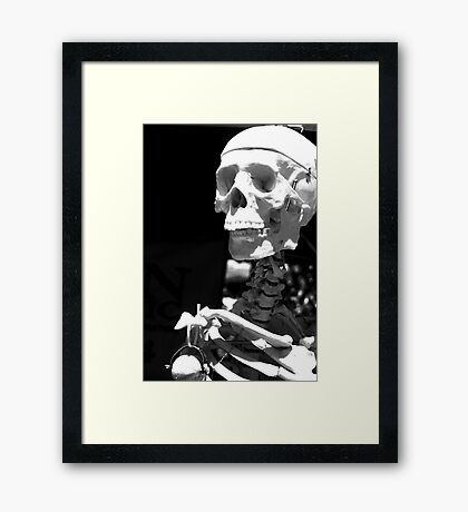 Dieting Can be Deadly Framed Print