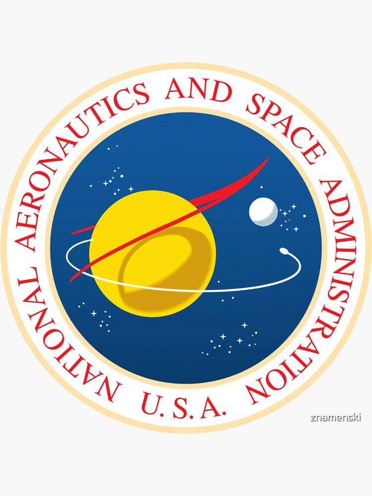 #Official #NASA #Seal USA National Aeronautics and #Space Administration by znamenski