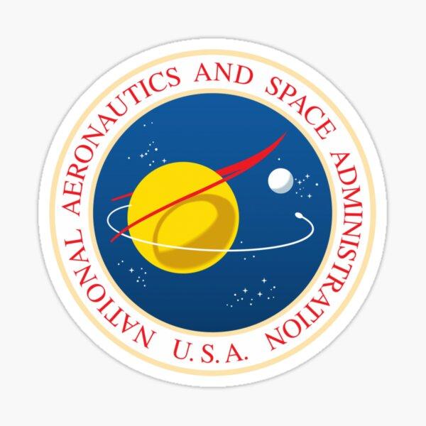 #Official #NASA #Seal USA National Aeronautics and #Space Administration Sticker