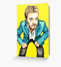 Eddie Izzard Greeting Card