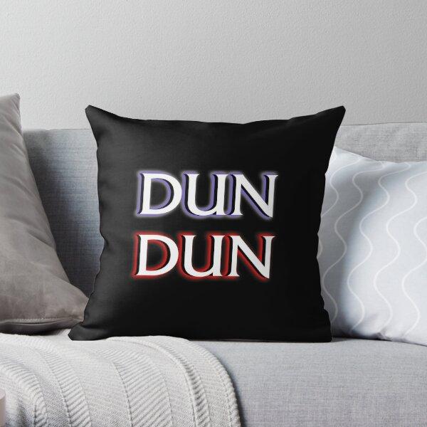 Dun Dun Meme (Law, Order, Parody) Throw Pillow
