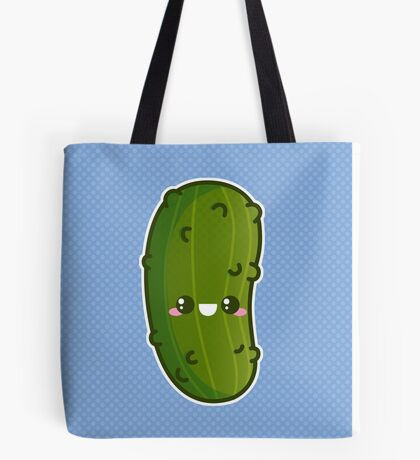 Kawaii Pickle Tote Bag