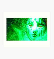 The Poison Ivy Mask Art Print