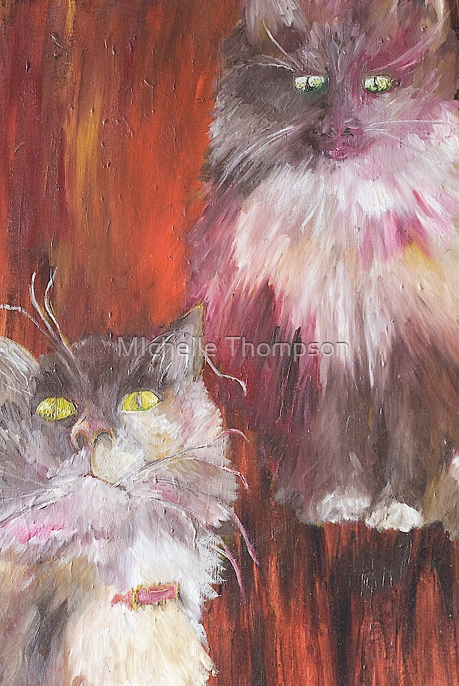 Hollie the Cat by MIchelle Thompson