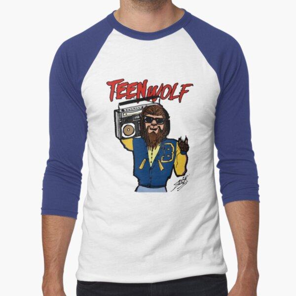 Teen Wolf T-shirt baseball manches ¾