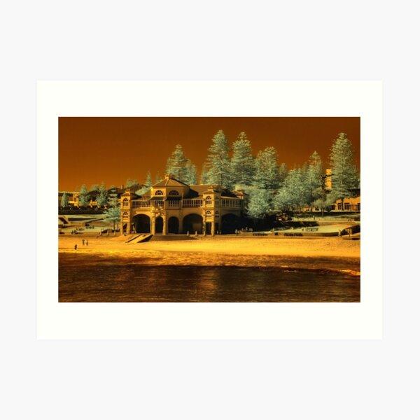 Indiana Tea House #2, Cottesloe Beach, Perth WA Art Print