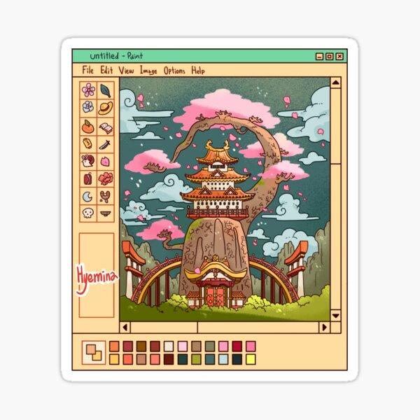 Blossom City Sticker