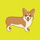 Corgi Dog by TinyBee