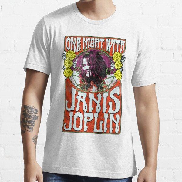 Una noche con Janis Joplin Camiseta esencial