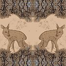 Forest Deer by stringerthings