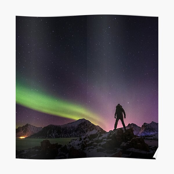 Under the Northern Lights Poster