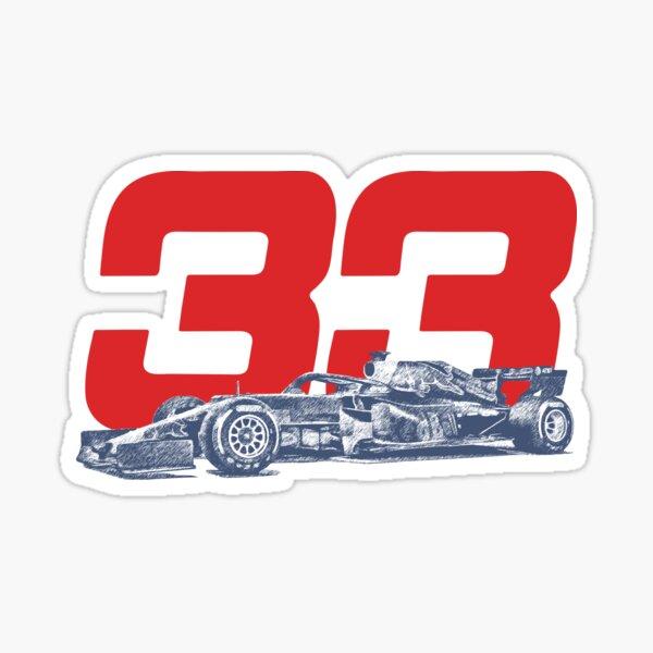 Verstappen 33 Sticker