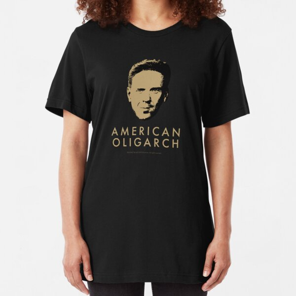 Bobby Axelrod - American Oligarch Slim Fit T-Shirt