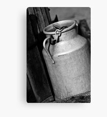 Metal Container France Canvas Print