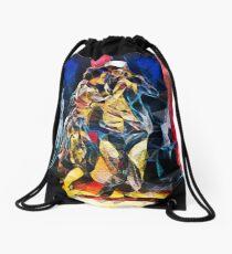 Tango Energy II - Primary Angles Drawstring Bag