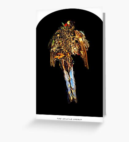 the Dancing Parrot Greeting Card