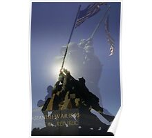 Iwo Jima Memorial - Arlington Virginia Poster