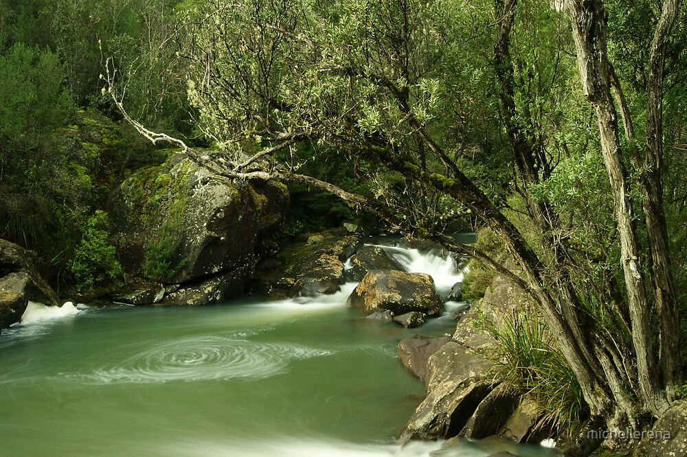 Pipers river swirls... by michellerena