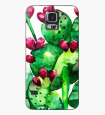 Prickly, Prickly Pear Cactus Case/Skin for Samsung Galaxy