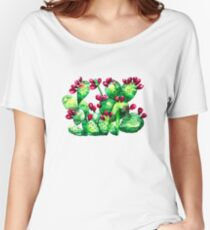 Prickly, Prickly Pear Cactus Relaxed Fit T-Shirt