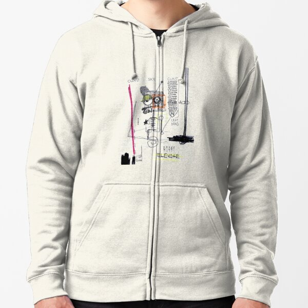 Weather System Zipped Hoodie