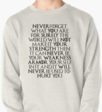 Never Forget Who You Are - Tyrion Lannister Quote T-Shirt