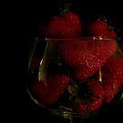 Strawberry Bowl by Gloria Abbey